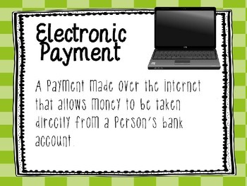 Personal Financial Literacy - 5.10C Power Point