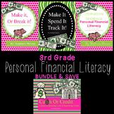 Personal Financial Literacy BUNDLE 3rd Grade TEKS