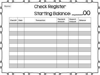 Personal Financial Literacy - Balance a Budget 5.10F 6.14C