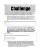 Personal Financial Literacy: Budget Challenge Project