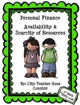 Personal Financial Literacy & Economics (3rd grade Math TEKS 9b)