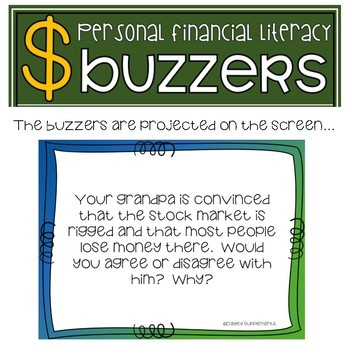 Financial Literacy - INVESTING - Bell Work & Prompts