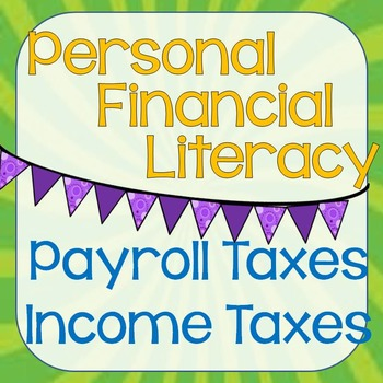 Personal Financial Literacy - Income Tax PowerPoint