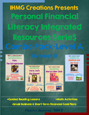 Personal Financial Literacy Integrated Resources-Level A-Bundle (ELA/Math/PFL)