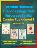 Personal Financial Literacy Integrated Resources-Level B-Bundle (ELA/Math/PFL)