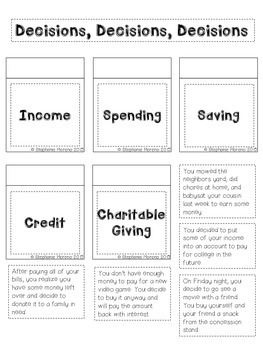 Personal Financial Literacy Interactive Notebook {Grade 3}