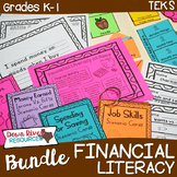 Personal Financial Literacy Bundle: Kindergarten & First Grade (Money & Income)