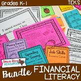 Personal Financial Literacy Bundle: Kindergarten & First G