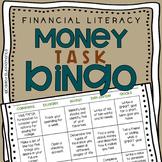 Financial Literacy Money Task Bingo - Choice Board