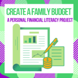 Personal Financial Literacy Project: Create a Family Budget