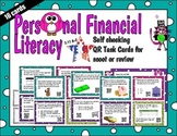Personal Financial Literacy QR Task Cards Tek 2.11A-C