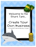 Personal Financial Literacy Shark Tank Project: Create You