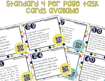 Personal Financial Literacy [Task Cards]