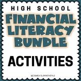 Financial Literacy VARIETY BUNDLE - Fun Hands On Activities  Games - High School