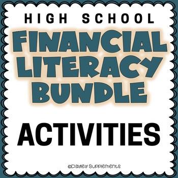 Financial Literacy VARIETY BUNDLE - Fun Hands On Activities