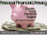 Personal Financial Literacy for Texas 5th Graders