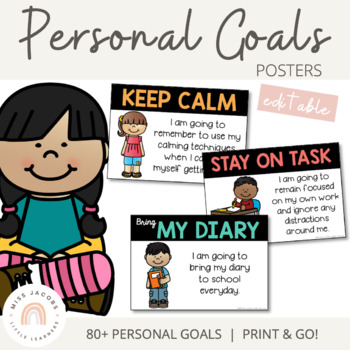 Personal Goal Posters