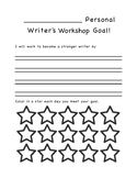 Personal Goal Recording Sheets