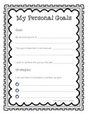 Personal Goal Tracker