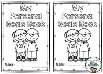Personal Goals Book