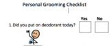 Personal Grooming Checklist