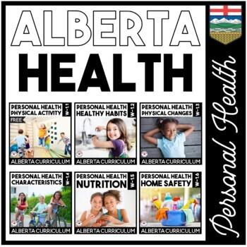 Personal Health BUNDLE | Alberta Curriculum