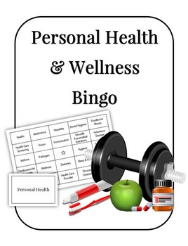 Personal Health and Wellness Bingo