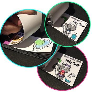 Personal Hygiene Animated Fidget Flippers