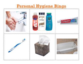 Personal Hygiene Bingo