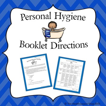 Personal Hygiene Booklet