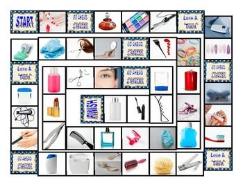 Personal Hygiene-Grooming Board Game