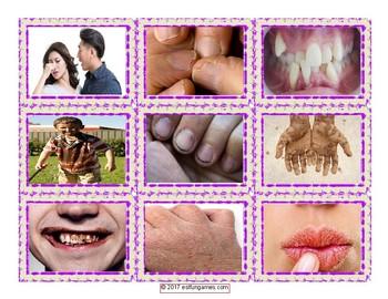 Personal Hygiene-Grooming Card Game