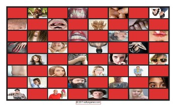 Personal Hygiene-Grooming Checkerboard Game