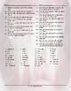 Personal Hygiene-Grooming Crossword Puzzle Worksheet