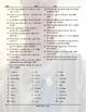Personal Hygiene-Grooming Jumbled Words Worksheet