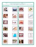 Personal Hygiene-Grooming Matching Worksheet 1