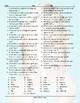 Personal Hygiene-Grooming Word Shapes Worksheet