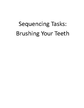 Personal Hygiene: Learning to Brush My Teeth