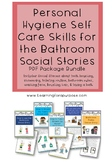 Personal Hygiene Skills in the Bathroom Social Stories Bundle