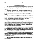 Personal Hygiene Social Story Class Discussion and Worksheet