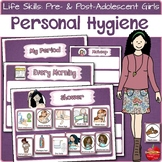 Personal Hygiene Visual Schedules & Support: Menstruation,
