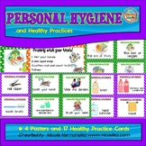 Healthy Habits and Personal Hygiene - {Posters and Cards}