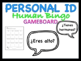Personal ID Human Bingo Spanish