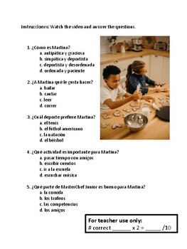 Personal ID Spanish IPA: Novice-Low