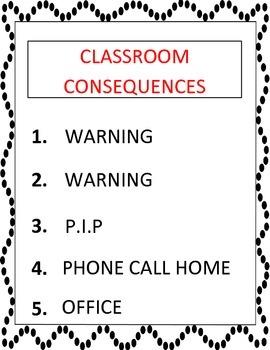 Personal Improvement Plan-- classroom management