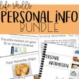 Personal Information BUNDLE!