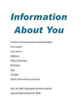 Life Skills Biographical Information