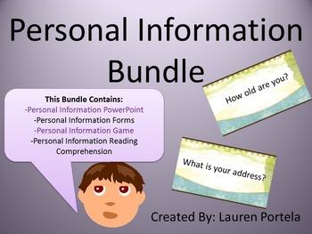 Personal Information Bundle