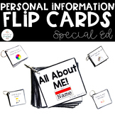 Personal Information Flip Cards