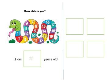 Personal Information Interactive Visual Book
